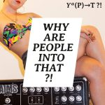 """""""Why are people into that?!"""" podcast graphic"""