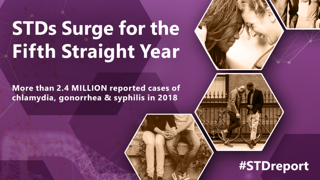 CDC: STDs Surge for the Fifth Straight Year